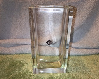 Vintage Desna Glass Vase - Bohemia