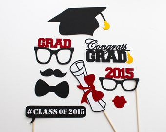 2018 Graduation Photo Booth Props 2017 - 2019 Commencement Photobooth