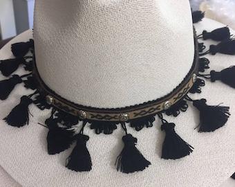 bohochic black sombrero