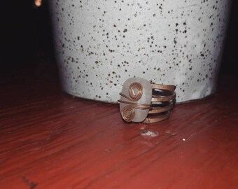 Hand crafted Copper Rings