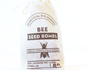 Bee Seed Bombs