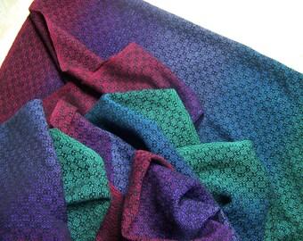 KSL - OOAK Handwoven Fabric - 4.6 meters - cotton linen
