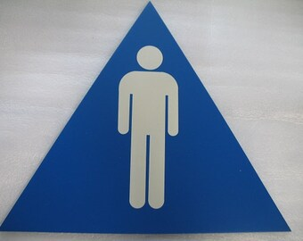 Male Sign for Restroom, Bedroom, Man Cave, or Other Area