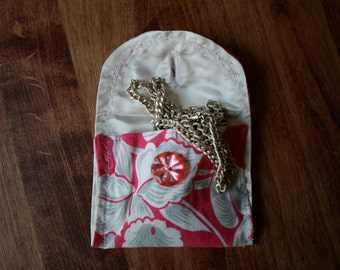 Cloth Coin Purse,  Business Card Holder,  Small Jewelry Holder,  Gift Card Holder
