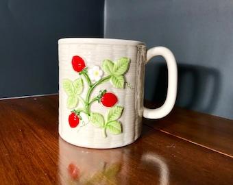 1982 Otagiri Strawberry Mug