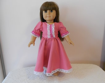 Pink Party Dress for 18 inch American Girl doll