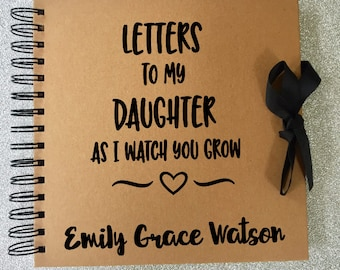 Keepsake Book - Memory Book - Daughter Memory Book - Baby Journal - Letters to my Daughter - Letters to my Son Book  - Mothers Day