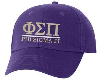 Phi Sigma Pi, Phi Pi, Phi Sigma Pi baseball hat, Phi Pi hat, Phi Sigma Pi hat, sorority hat, little big, sorority gift, greek gift