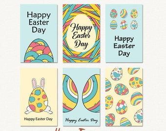 Happy Easter greeting cards, easter card, Easter printable