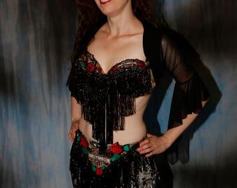 Custom Harley Davidson  Belly Dance Costume