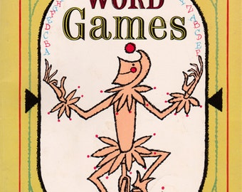Arrow Book of Word Games by Murray Rockowitz, illustrated by William Hogarth