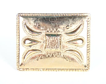Italian Belt Buckle / Gold / Brass Belt Buckle Men / Mens Belt Buckle / Unique Belt Buckle / Old Belt Buckles / Italy Belt Buckle
