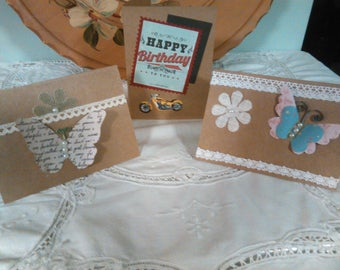 Assorted greeting cards - Blank inside