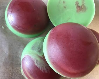 Cranberry Cinnamon Soap with Olive Oil and Shea Butter Handmade by SterlingSoapCo