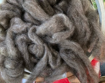 Kid Mohair and BFL Roving