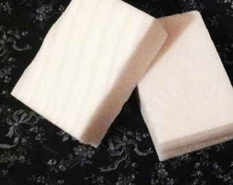 Goats Milk Soap, Blackberry Sage, Rectangle Soap, White Bar of Soap, Made to Order, Dye Free Soap, Bars of Soap