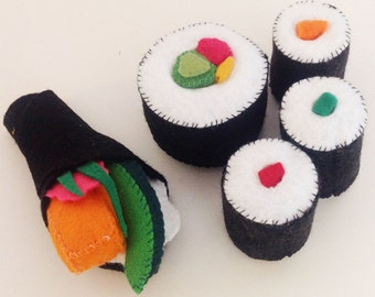 Sushi Set - Five Pieces