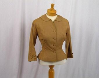 60s Rockabilly Suit * 60s Wiggle Suit * 60s Suit * Light Brown Suit * Mod Suit * 1960s Suit * Mad Men Suit