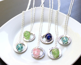 Positive Message Necklaces (Various Color Options)