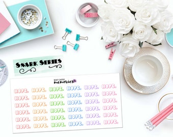 "SNARK SERIES: ""Nope."" Paper Planner Stickers!"