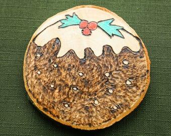 Christmas tree decoration - Christmas pudding
