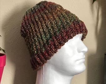 Large Multi Color Beanie