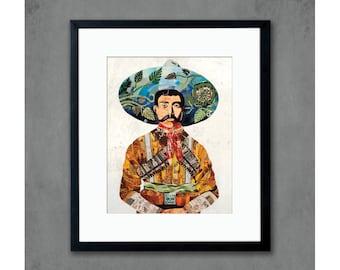 Señor Male Portrait Art Print