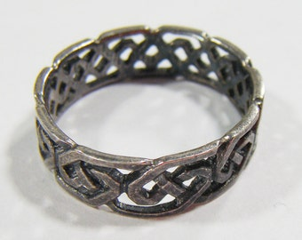 Vintage Silver Ring Size 7