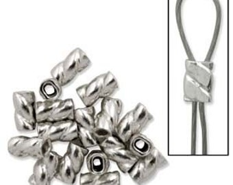 "50 Twisted Cyclone Crimps 3mm - Diameter .024x.051"" (TWC019SS)"