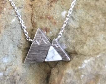 Silver Mountain Necklace