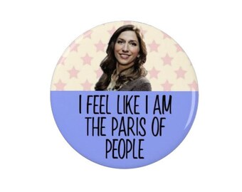 Brooklyn Nine Nine - Gina Linetti - Badges - Magnets - Brooklyn 99 - TV - Comedy - Quotes - Quote