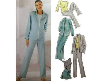 "Women's Pants, Shorts, Skirt, Jacket, Top Sewing Pattern, Misses' Size 6-8-10-12 Bust 30.5 - 34"" Uncut Simplicity 0611 / 5867"