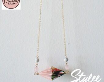 Duet Origami Necklace