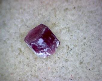Beautiful Red Beryl Bixbite crystal