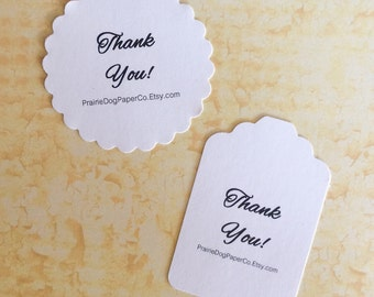 Stickers, Business Stickers, Thank You Labels, Logo Sticker, Personalized Sticker Tags, set of 24
