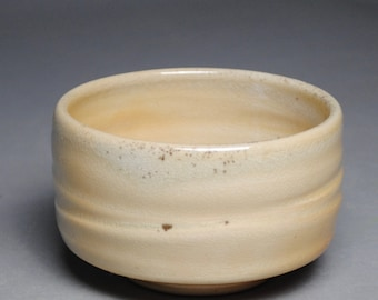 Tea Bowl Handmade Chawan  Soda Fired F50