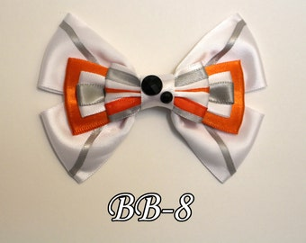 Star Wars BB-8 Hair Bow