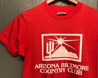 XS thin vintage 80s Arizona Biltmore Country Club t shirt * Phoenix