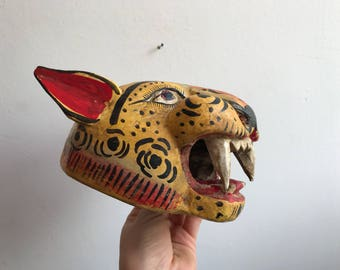 Wildcat, decorative mask.