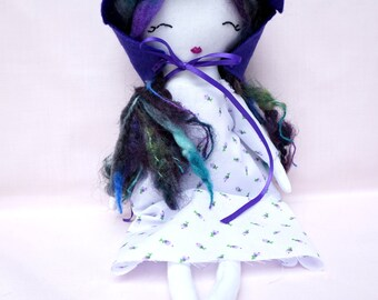 Handmade Ragdoll - Baby Shower - Nursery Decor Girls - Gift for Her - Soft Doll - Cloth Doll