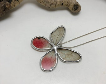 Butterfly jewelry, pink butterfly, Real Butterfly Wing Necklace, butterfly Pendant,handmade butterfly pendant, butterly wing