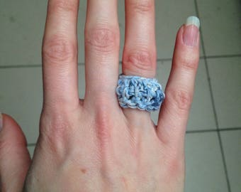 Ring made by crochet
