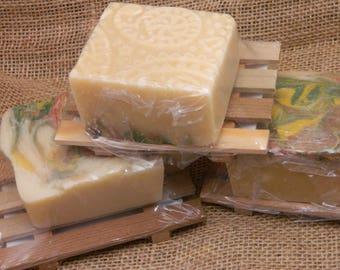 Frais de feuilles mortes chèvres lait savon coffret