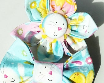 Easter Bunny Flower or Bow Tie for Dog or Cat Collar