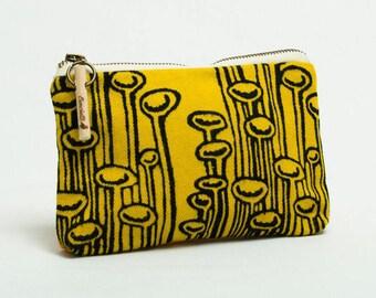 Cosmetic Bag, Vegan Cosmetic Pouch, Makeup Bag, Makeup Pouch, Toiletry Bag, Toiletry Pouch, Travel Pouch, Zipper Pouch, Zipper Bag, Hand Bag