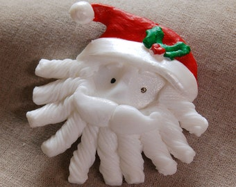 Christmas Santa Claus 1 Holiday Soap