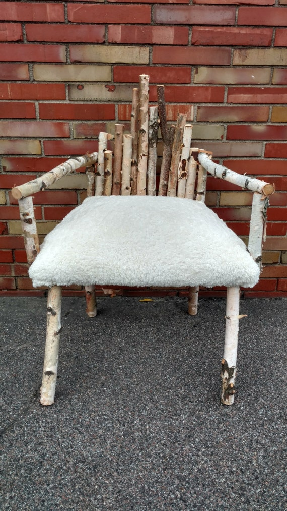 Birch Faux Fur Accent Chair