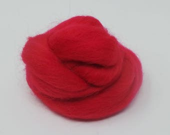 Superfine Merino Scarlet Red