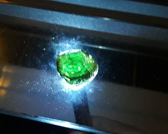 57.65 ct rare Kornerupine Healing Stone, green blue | rough, earth-mined | Healing Crystal | Duty-Free import to the US acc. HTS chapter 71