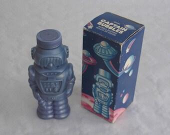 Vintage 80s J. space - Captain bubbles by Avon - bubbles robot